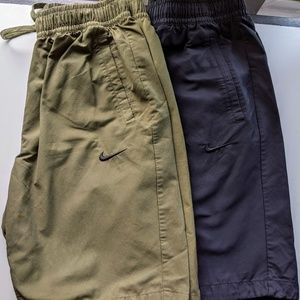 (2) NIKE Active Drawstring Shorts